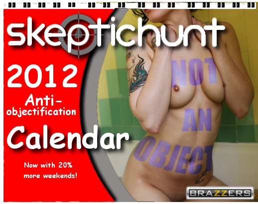 Official Skeptichunt 2012 All-Nude Calendar to Benefit Anti-Objectification Campaign